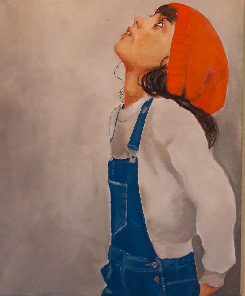 Marie Colombier Acrylique sur toile. 54x65cm. Ref 051