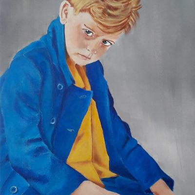 Marie Colombier Acrylique sur toile. 60x75cm. Ref 053