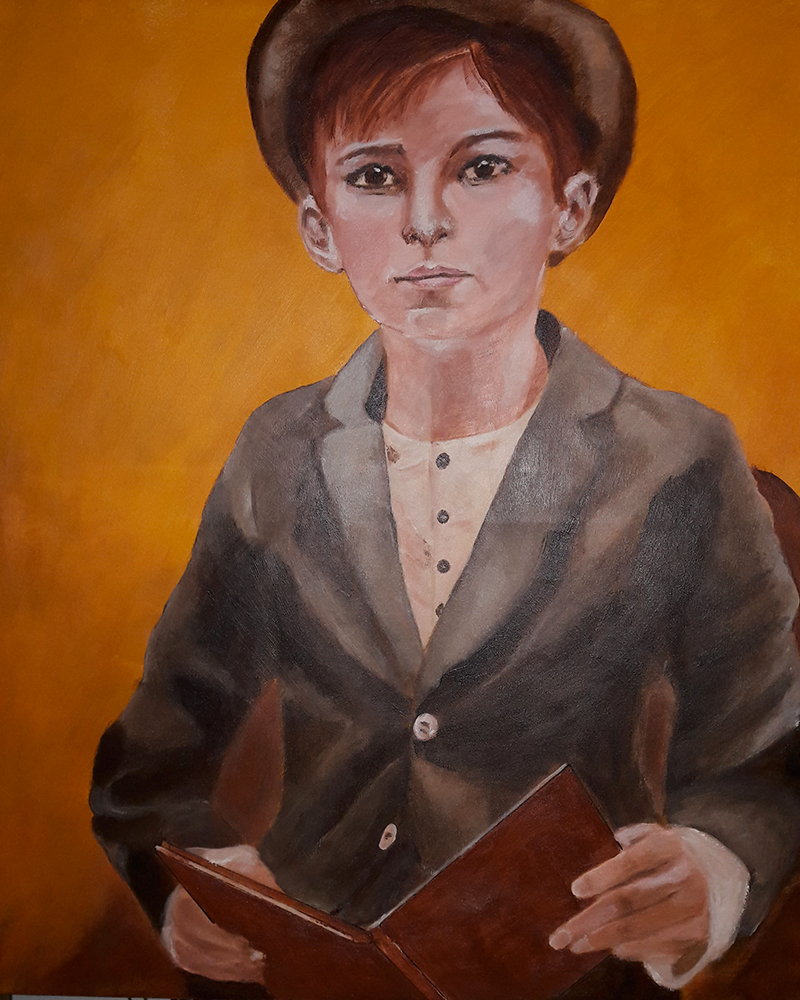 Marie Colombier Acrylique sur toile. 60x75cm. Ref 058