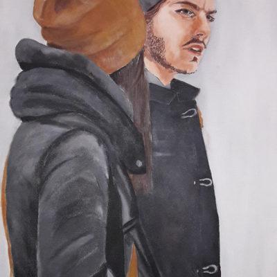 Acrylique sur toile - 70x90cm