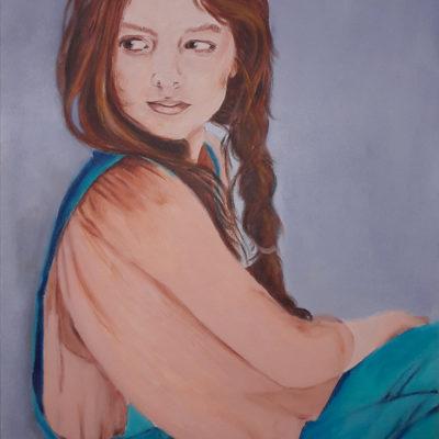 Marie Colombier Peinture acrylique sur toile 54x73