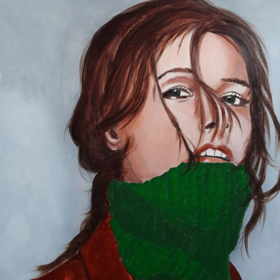 peinture Acrylique 50x50 Marie Colombier